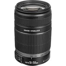 Canon EF-S 55-250mm olivos