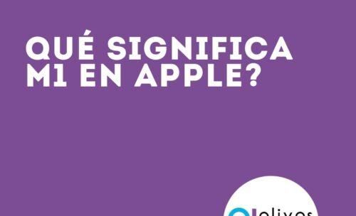 Qué significa M1 en Apple